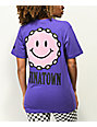 Chinatown Chain Smile camiseta morada