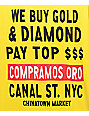 Chinatown Market Canal Street Gold Yellow T-Shirt