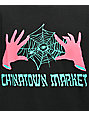 Chinatown Market x Never Made Spinning Webs camiseta negra