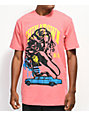 Chinatown Market x Never Made Take A Ride camiseta rosa