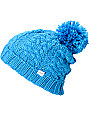 Coal Karolyn Blue Pom Beanie