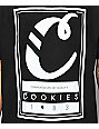 Cookies Alumni Hall Logo Black T-Shirt