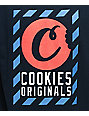 Cookies Caution camiseta en azul marino