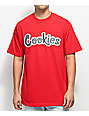 Cookies On The Gouch camiseta roja