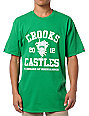 Crooks and Castles Primetime Green T-Shirt