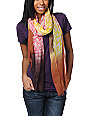 D&Y Tribal Print Yellow Scarf