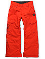 DC Boys Banshee Red Snowboard Pants