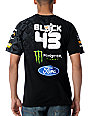 DC Ken Block Check Slider Black T-Shirt