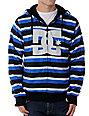 DC Kupress Blue Stripe Tech Fleece Jacket