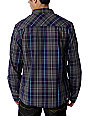 DC Natomas Charcoal Long Sleeved Woven Shirt