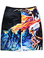 DC Truckstop 21 Black Board Shorts