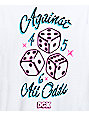 DGK Against All Odds White T-Shirt