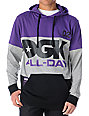 DGK All Day Pullover Purple & Gray Hoodie