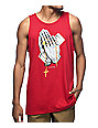DGK Blessed Burgundy Tank Top