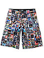 DGK Instagram Black 23 Board Shorts
