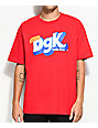 DGK Mix-Up Red T-Shirt
