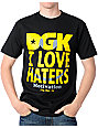 DGK Smile Face Black T-Shirt