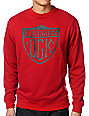 DGK Underdogs Red Crew Neck Sweatshirt