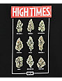 DGK X High Times Fire Black T-Shirt