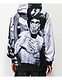 DGK x Bruce Lee Scratch Grey, Black & White Hoodie