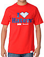 DGK x Diamond I Love Haters Red T-Shirt
