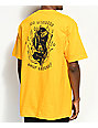DROPOUT CLUB INTL. x Heavy Slime Losers Yellow T-Shirt