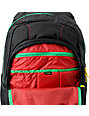 Dakine Point Black & Rasta Wet Dry Skate Backpack