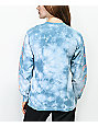 Dark Seas Dinos Dive Blue Tie Dye Long Sleeve T-Shirt