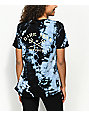 Dark Seas Night Prowler Blue Tie Dye T-Shirt