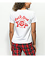 Dark Seas Rose White T-Shirt
