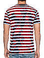 Deathwish Death Stack Red Striped T-Shirt