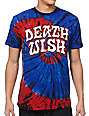 Deathwish Great Death Blue Tie-Dyed T-Shirt