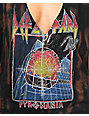 Def Leppard Acid Wash Muscle Tank Top