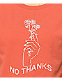Desert Dreamer No Thanks Washed Red T-Shirt