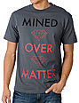 Diamond Supply Co Mind Over Matter Charcoal T-Shirt