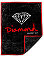 Diamond Supply Co OG Black & Red Blanket