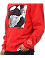 Diamond Supply Co Rollin Diamonds Red Crew Neck Sweatshirt