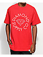 Diamond Supply Co. Circle Logo Red T-Shirt