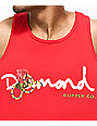 Diamond Supply Co. Snake OG Red Tank Top