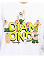 Diamond Supply Co. x Family Guy camiseta blanca