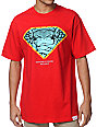 Diamond Supply x Crooks And Castles Red T-Shirt