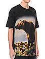 Diamond Supply x Grizzly Grip Tape Mountain Bear Black T-Shirt