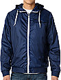 Dravus Burke Navy Blue Windbreaker