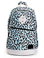 Element Cammie Blue & Grey Leopard Print Backpack