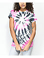 Element Eyes Pink Tie Dye T-Shirt