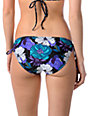 Empyre Arch Teal Floral Side Tie Bottom