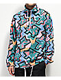 Empyre Aspen Multicolor Half Zip Mock Sweatshirt