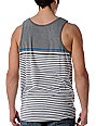 Empyre Blank Stripe Grey Tank Top