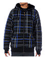 Empyre Boilerplate Black Plaid Hoodie