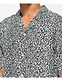 Empyre Brian Black & White Cheetah Short Sleeve Button Up Shirt
